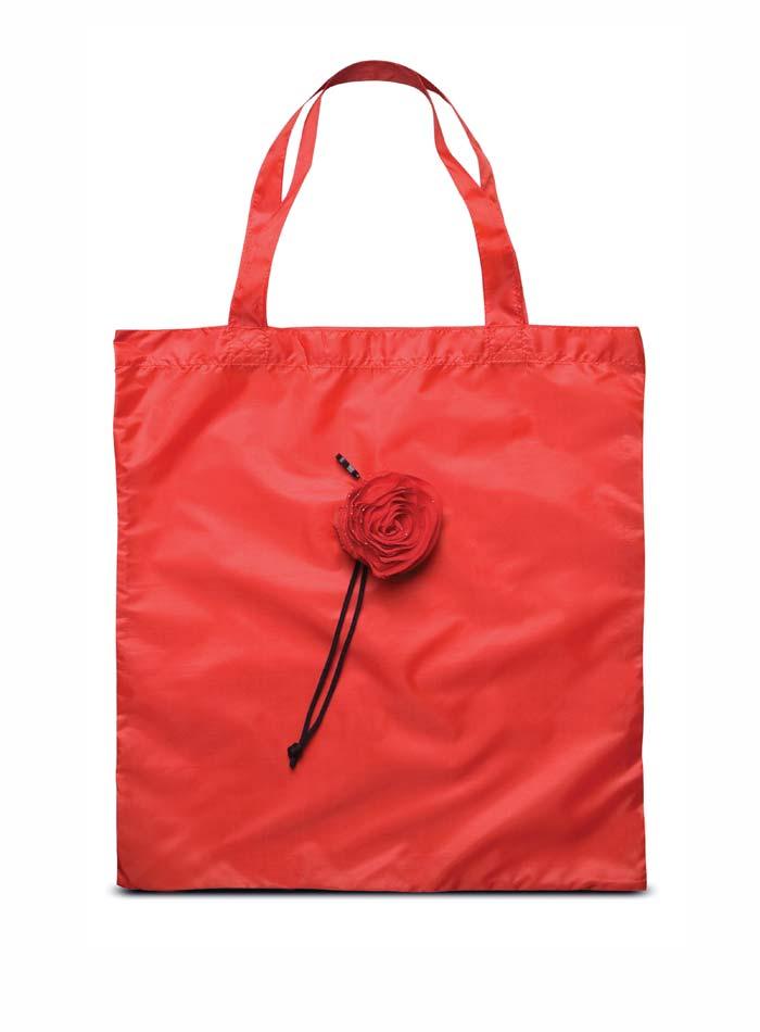 Skládací nákupní taška - Červená univerzal