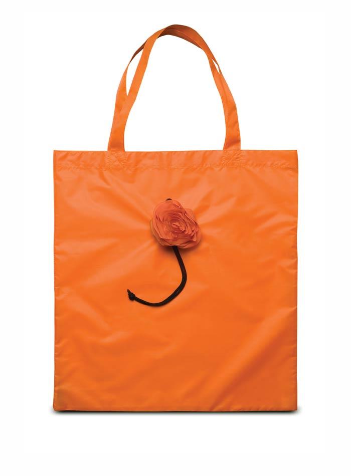 Skládací nákupní taška - Oranžová univerzal