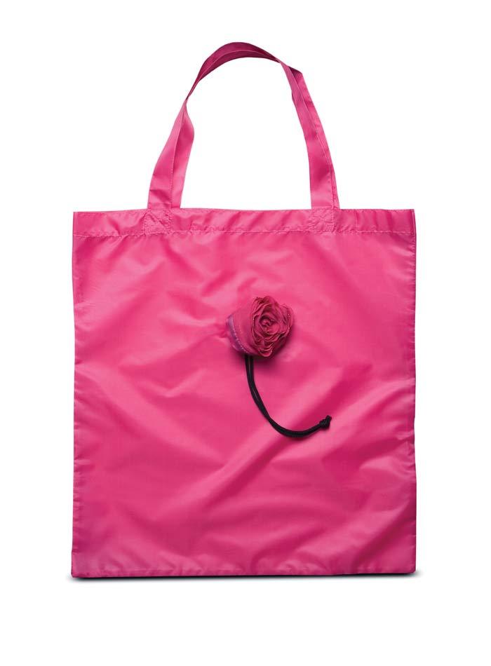Skládací nákupní taška - Fuchsiová univerzal