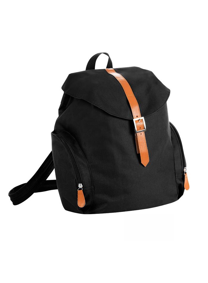 Malý retro ruksak - Černá univerzal