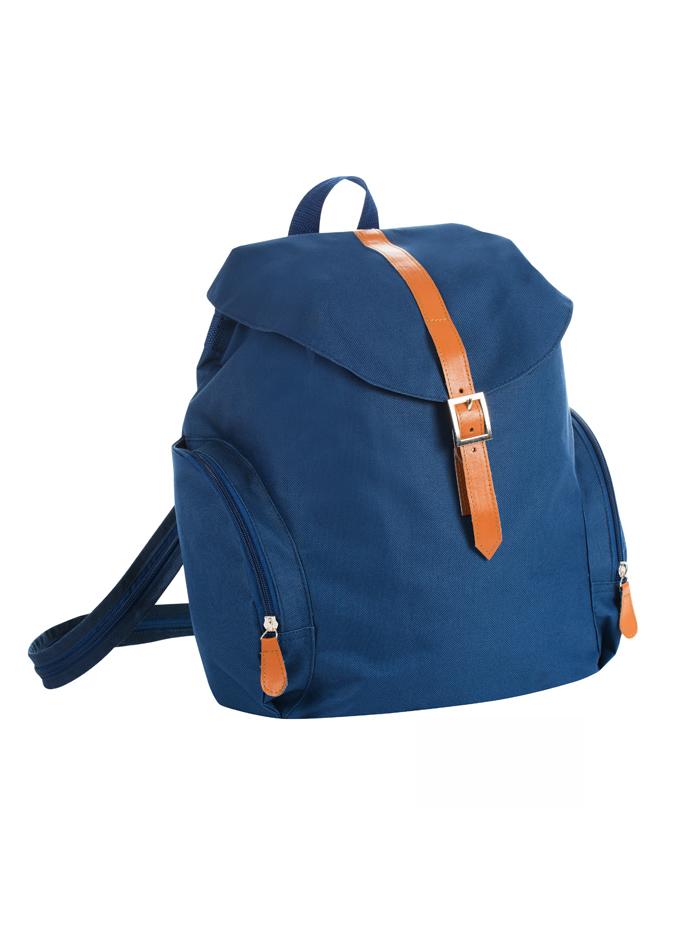 Malý retro ruksak - Námořnická modrá univerzal