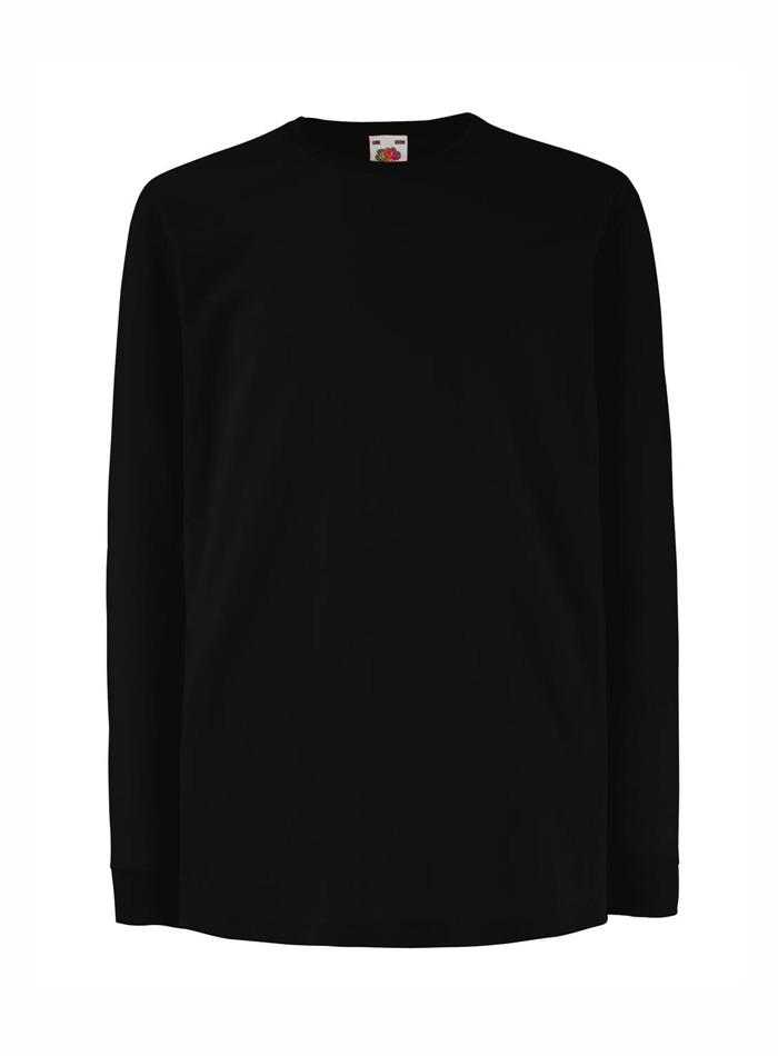 Tričko s dlouhým rukávem - Černá 152 (12-13)