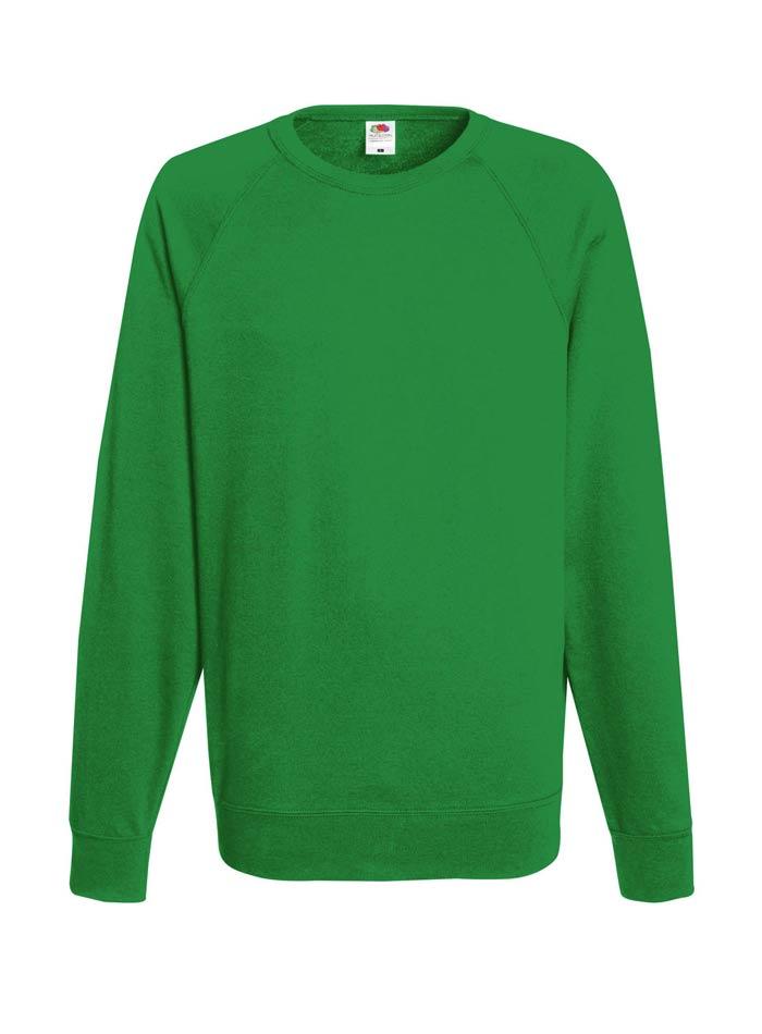 Lehká mikina - Zelená S