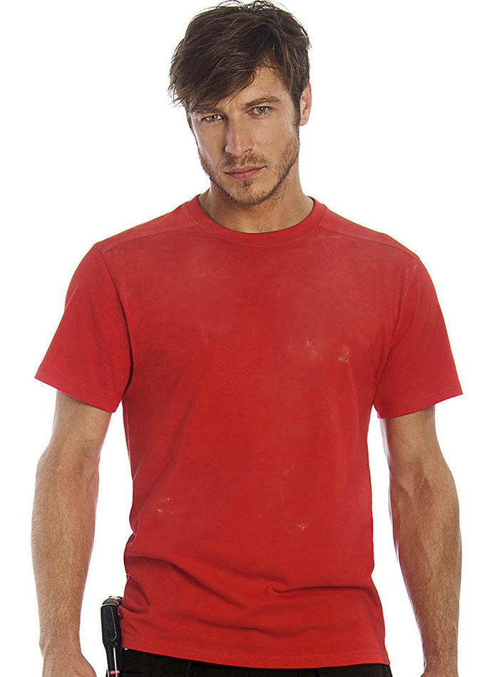 Pracovní tričko - Červená S