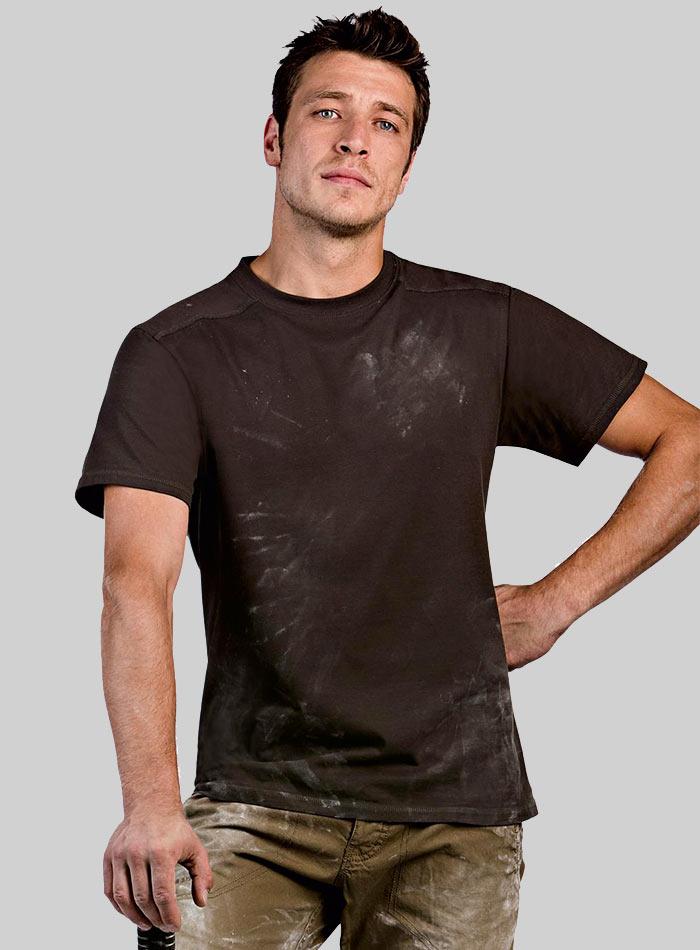 Pracovní tričko - Hnědá S