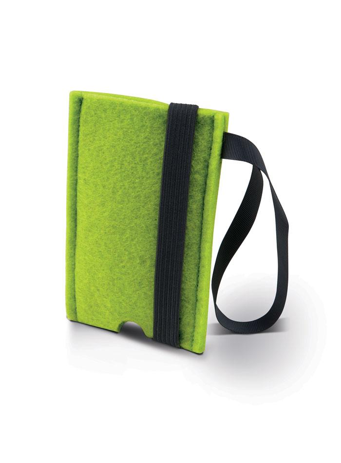 Filcový obal na iPhone - Zelená univerzal