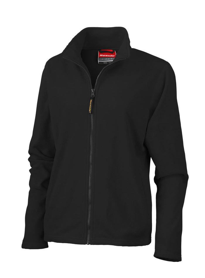 Dámská mikina fleece - Černá XL