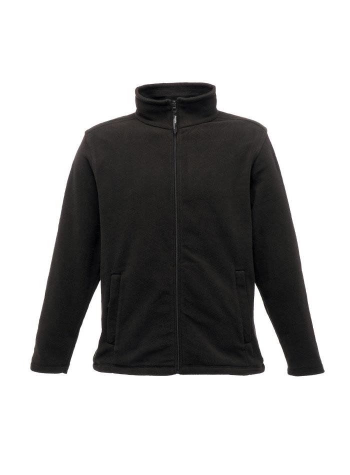 Mikina fleece - Černá 4XL