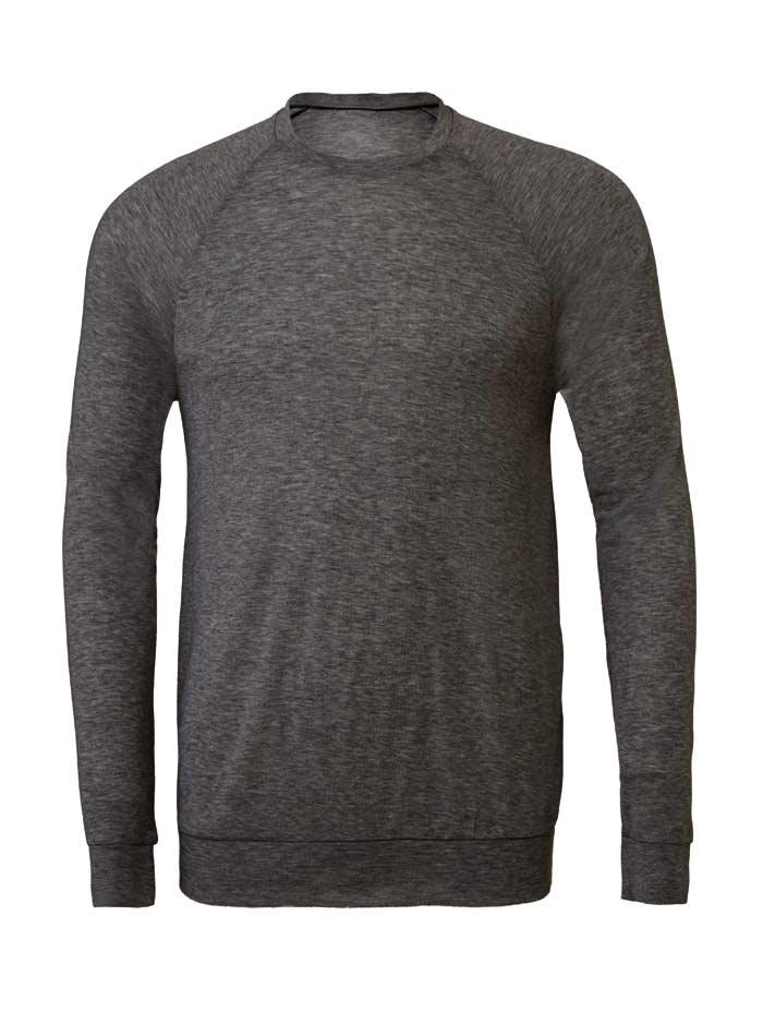 Lehký svetr s kulatým výstřihem