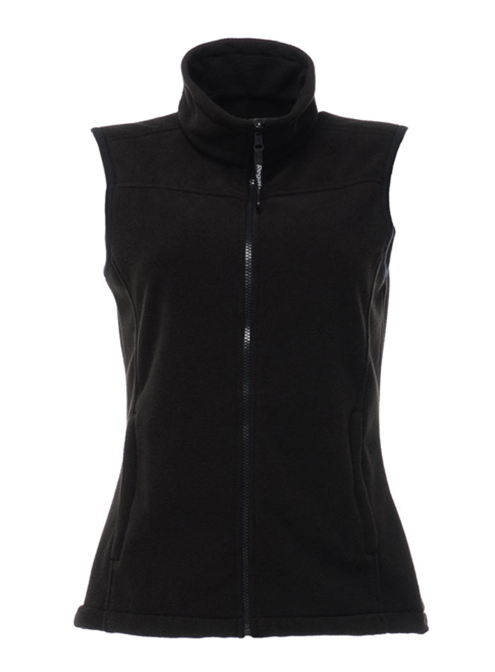 Fleece vesta Haber - Černá 34