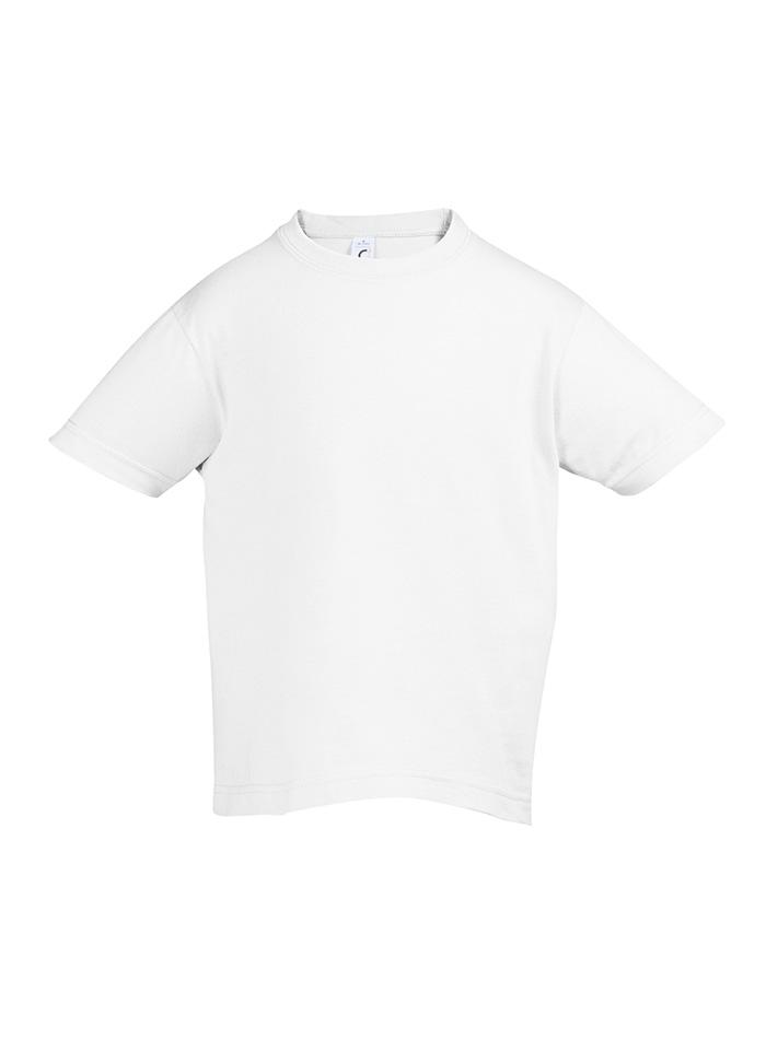 Tričko Sols Klasik - Bílá 128 (7-8)