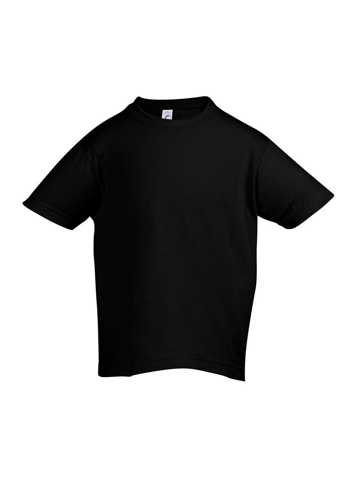 Tričko Sols Klasik - Černá 128 (7-8)