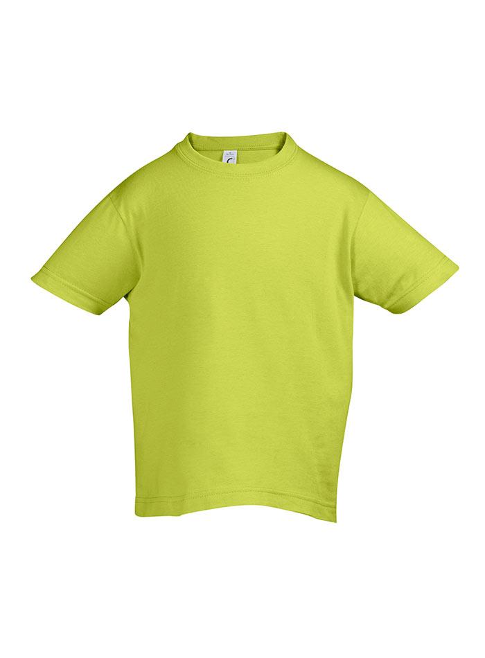 Tričko Sols Klasik - Jablečně zelená 128 (7-8)