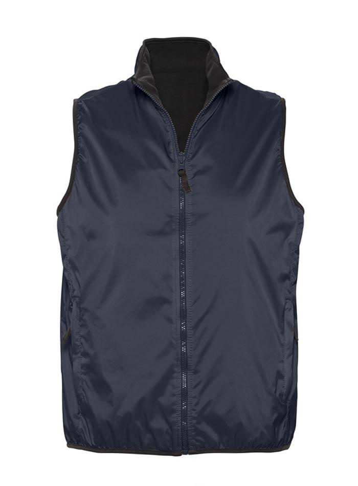 Unisex oboustranná vesta - Námořní modrá XS