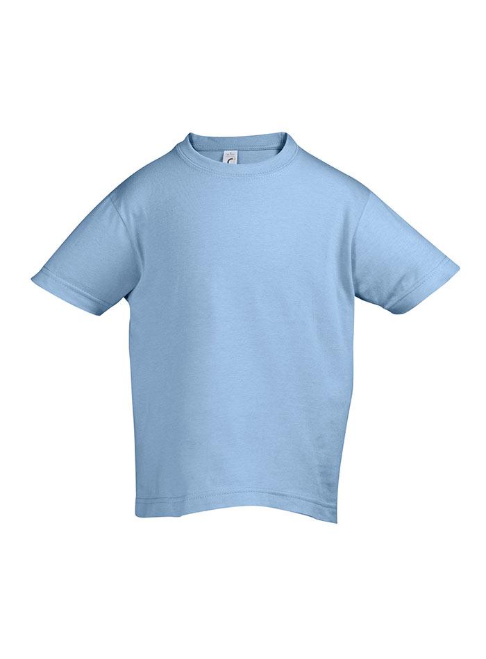 Tričko Sols Klasik - Světle modrá 128 (7-8)