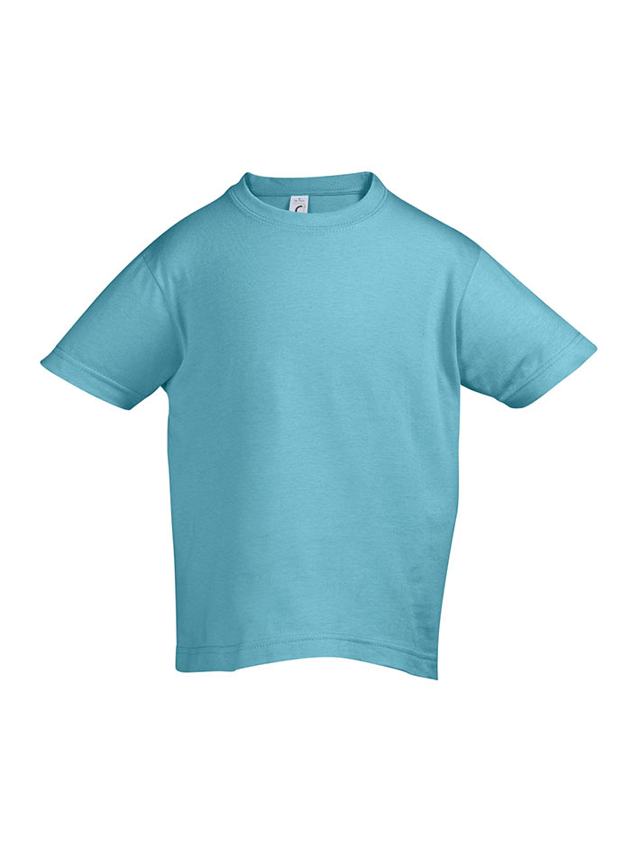 Tričko Sols Klasik - Ledově modrá 128 (7-8)