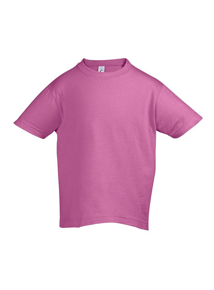 Tričko Sols Klasik - Růžová 128 (7-8)