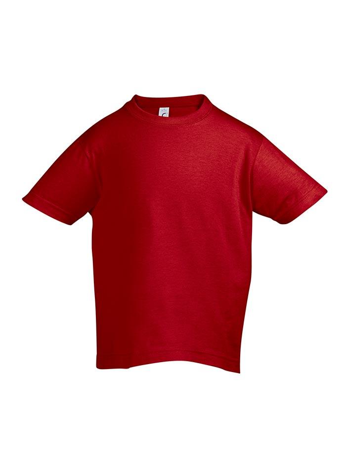 Tričko Sols Klasik - Červená 128 (7-8)