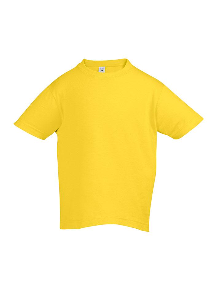Tričko Sols Klasik - Tmavě žlutá 128 (7-8)