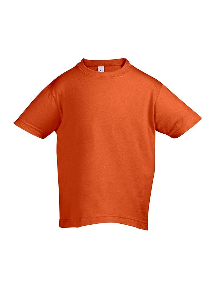 Tričko Sols Klasik - Oranžová 128 (7-8)