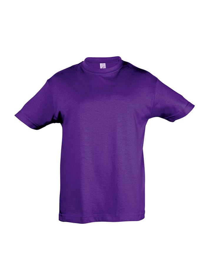 Tričko Sols Klasik - Tmavě fialová 128 (7-8)