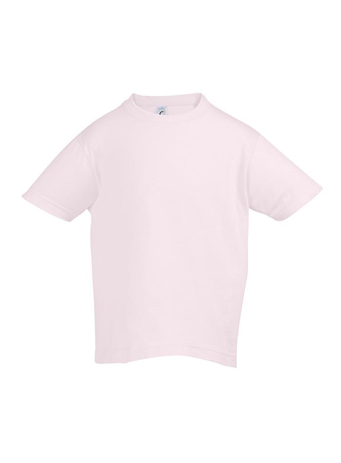 Tričko Sols Klasik - Světle růžová 128 (7-8)
