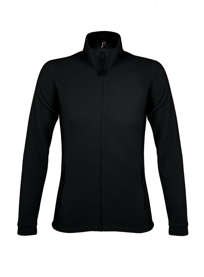 Hřejivá micro fleece mikina - Černá S