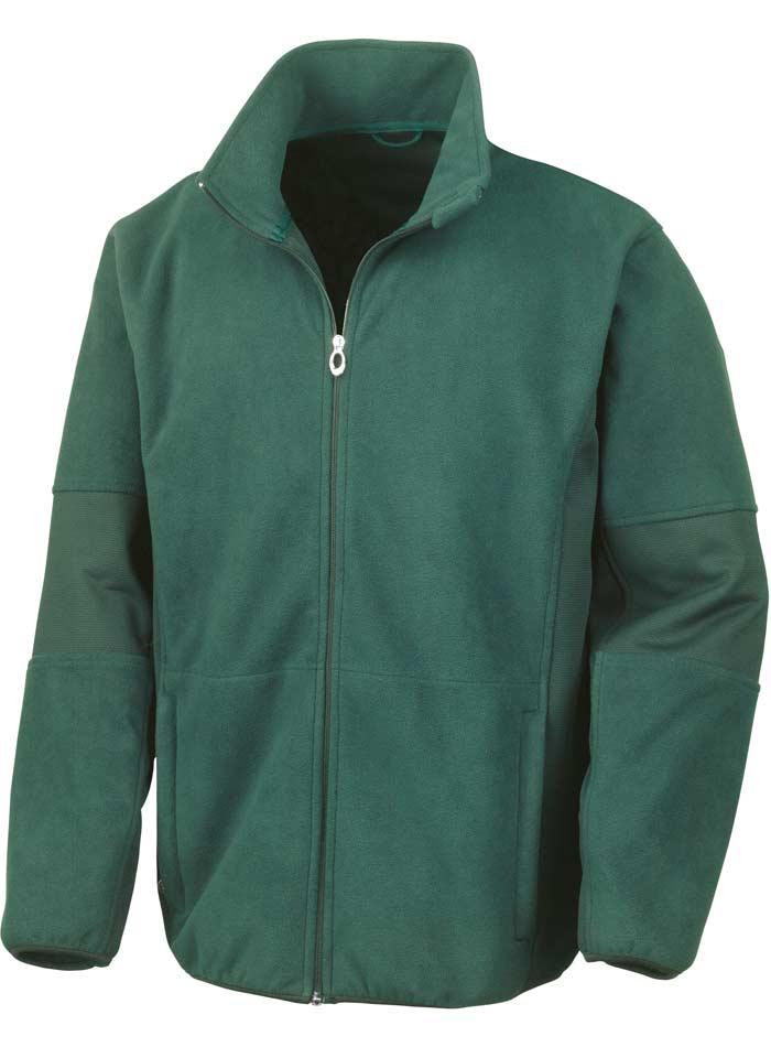 Softshell bunda - Lesní zelená XXL