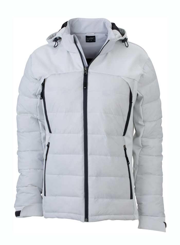 Dámská zimní bunda Hybrid - Bílá M