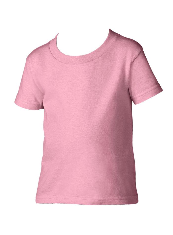 Dětské tričko Gildan - Světle růžová 5T (110)