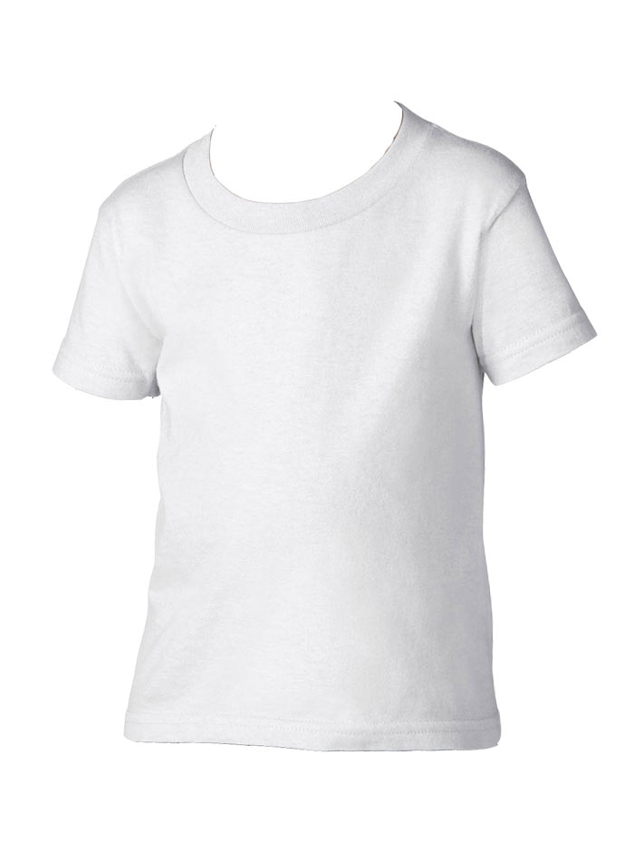 Dětské tričko Gildan - Bílá 4T (104)