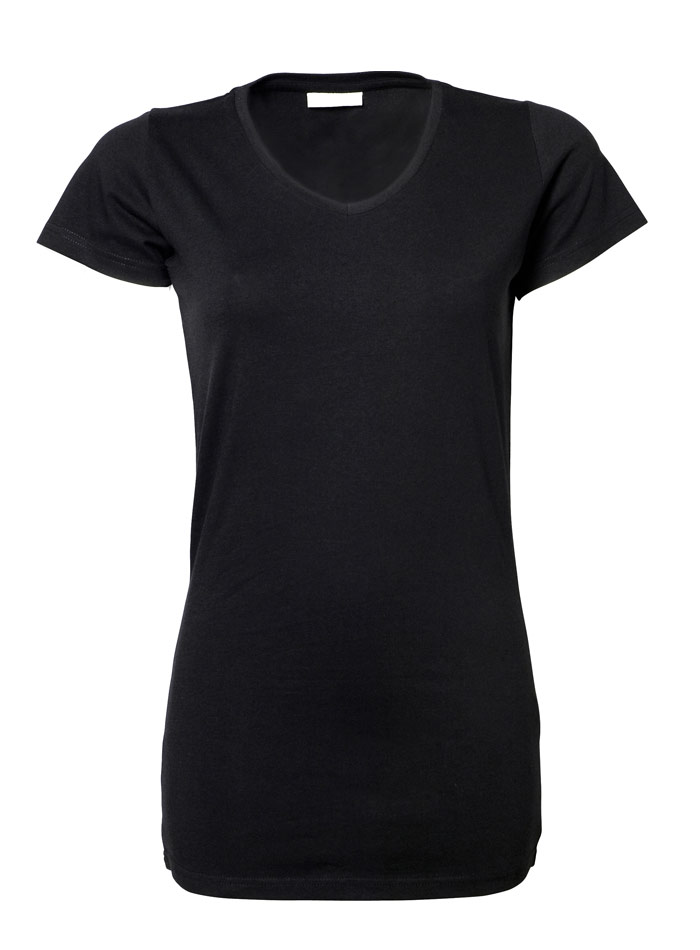 Dlouhé tričko - Černá XXL