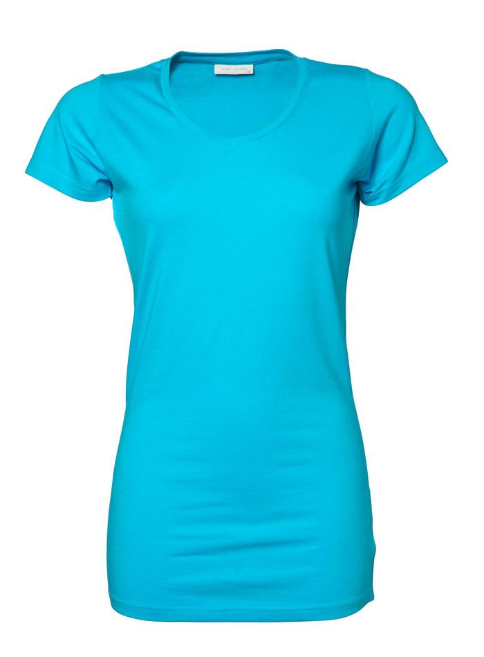 Dlouhé tričko - Tyrkysově modrá XXL