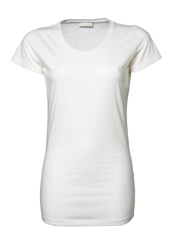 Dlouhé tričko - Bílá XXL