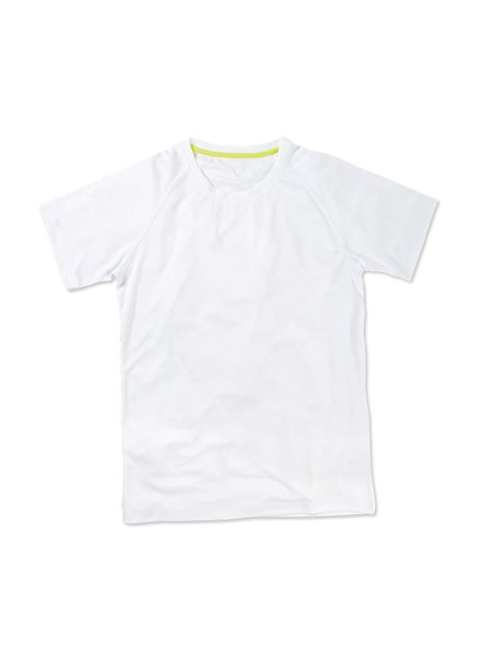 Pánské sportovní tričko Active raglan - Bílá M