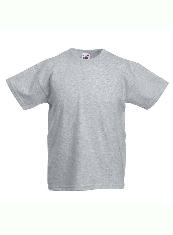 Lehké bavlněné tričko - Šedý melír 152 (12-13)