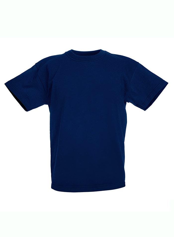 Lehké bavlněné tričko - Námořní modrá 152 (12-13)