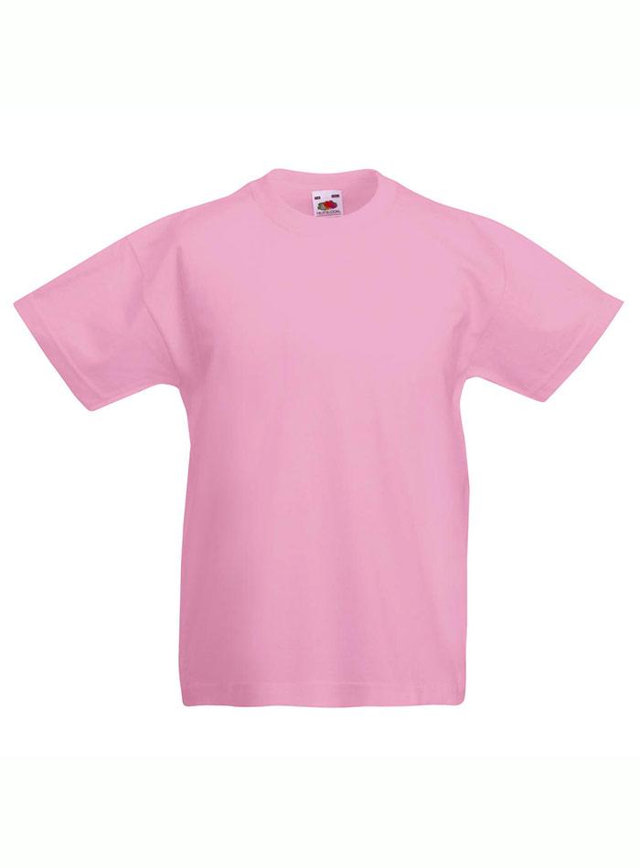 Lehké bavlněné tričko - Světle růžová 152 (12-13)