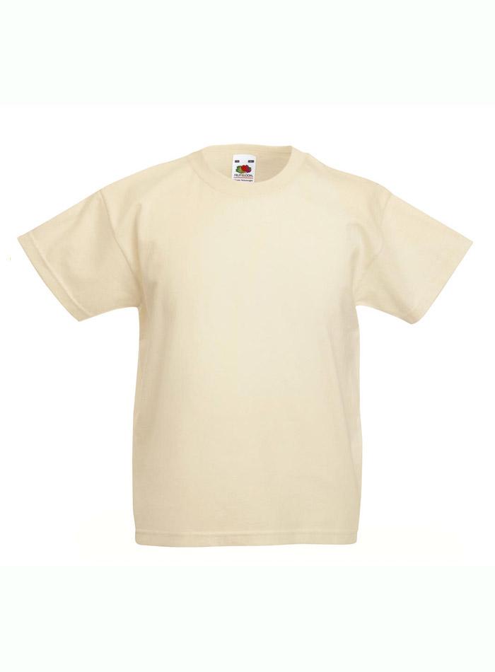 Lehké bavlněné tričko - Přírodní 152 (12-13)
