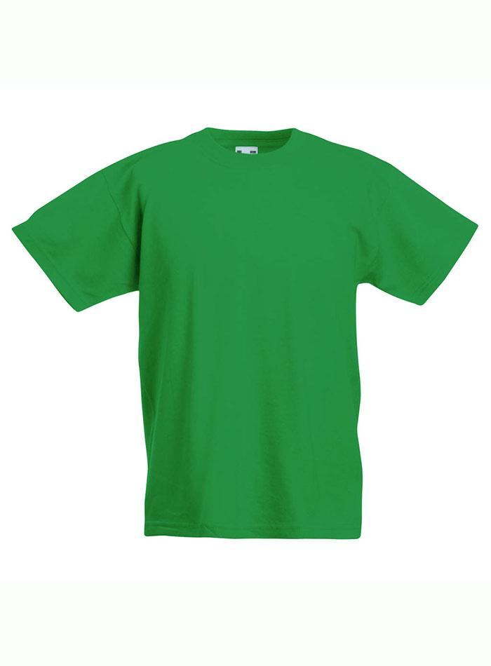 Lehké bavlněné tričko - Zelená 152 (12-13)