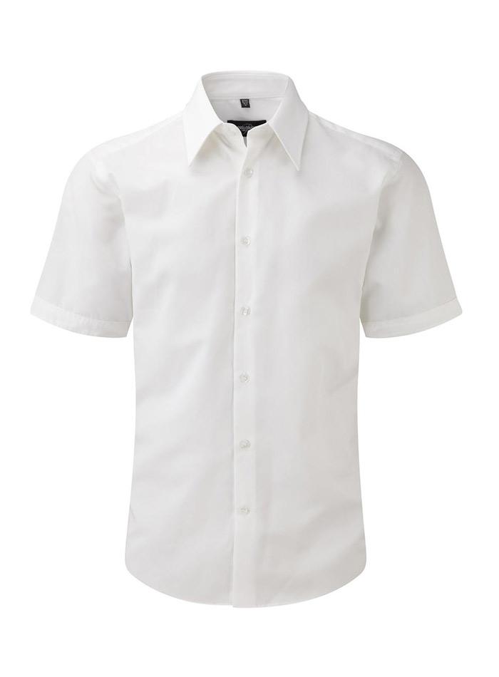 Pánská košile Tencel - Bílá S