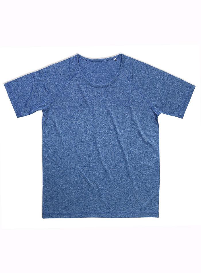 Pánské sportovní tričko Performance - Modrofialová S