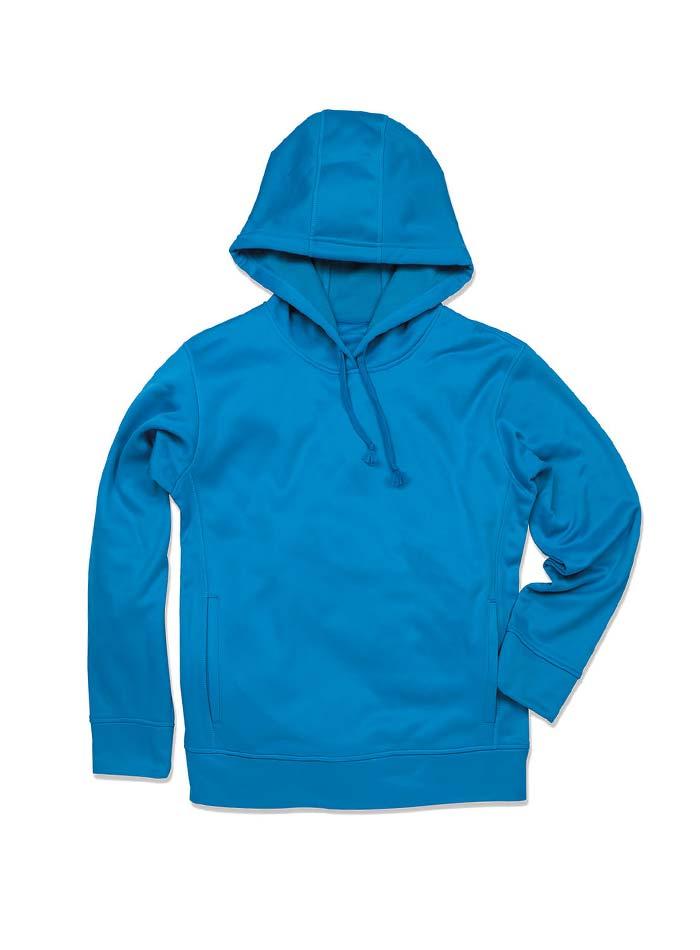 Pánská fleece mikina Bonded - Modrá S