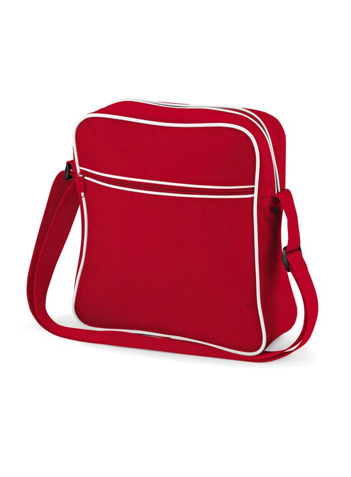Cestovní taška Retro - Červená univerzal