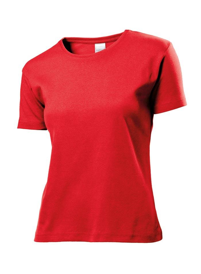 Dámské tričko Comfort - Červená S