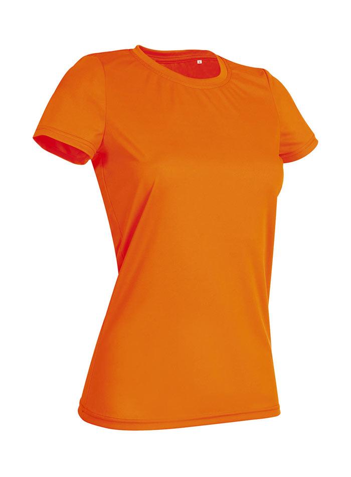 Dámské tričko Active Sports - Oranžová L