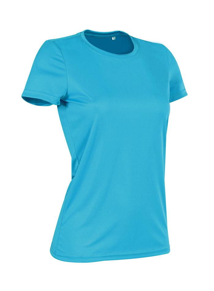 Dámské tričko Active Sports - Modrá L