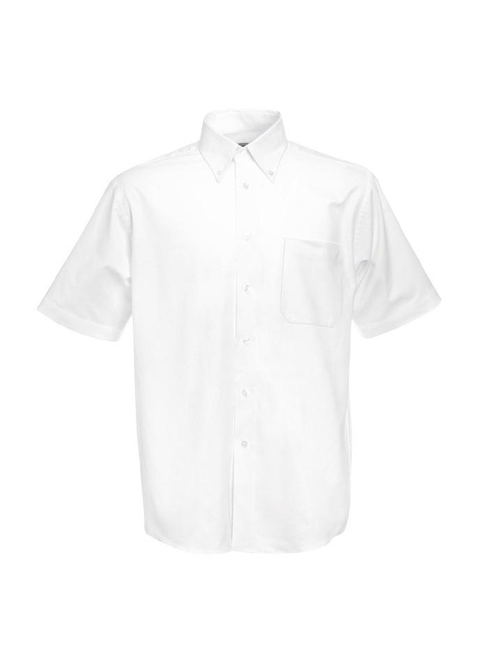 Pánská košile Oxford - Bílá S