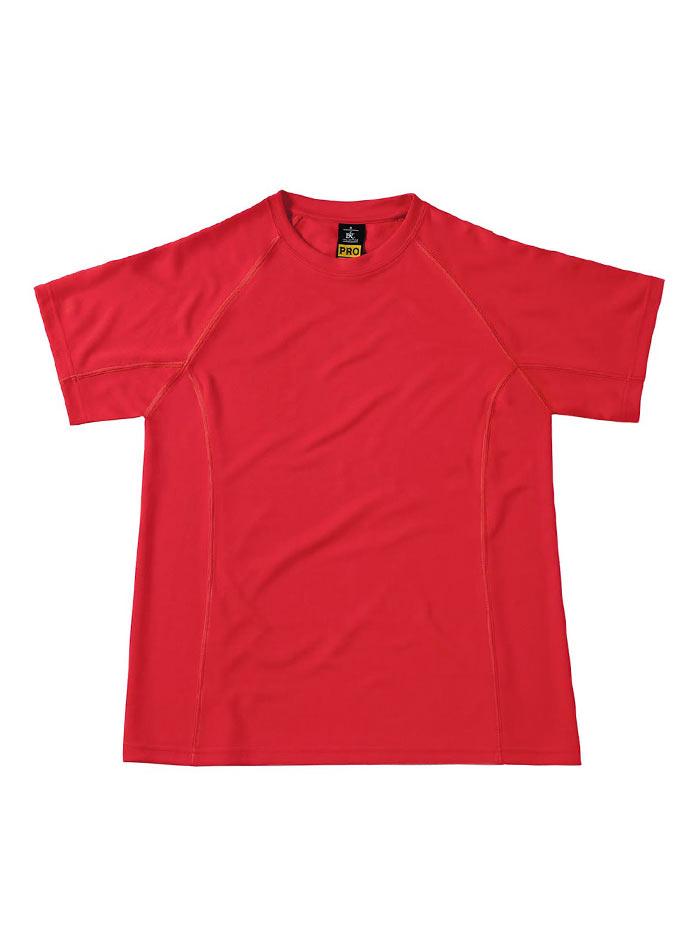 Funkční pracovní tričko - Červená S
