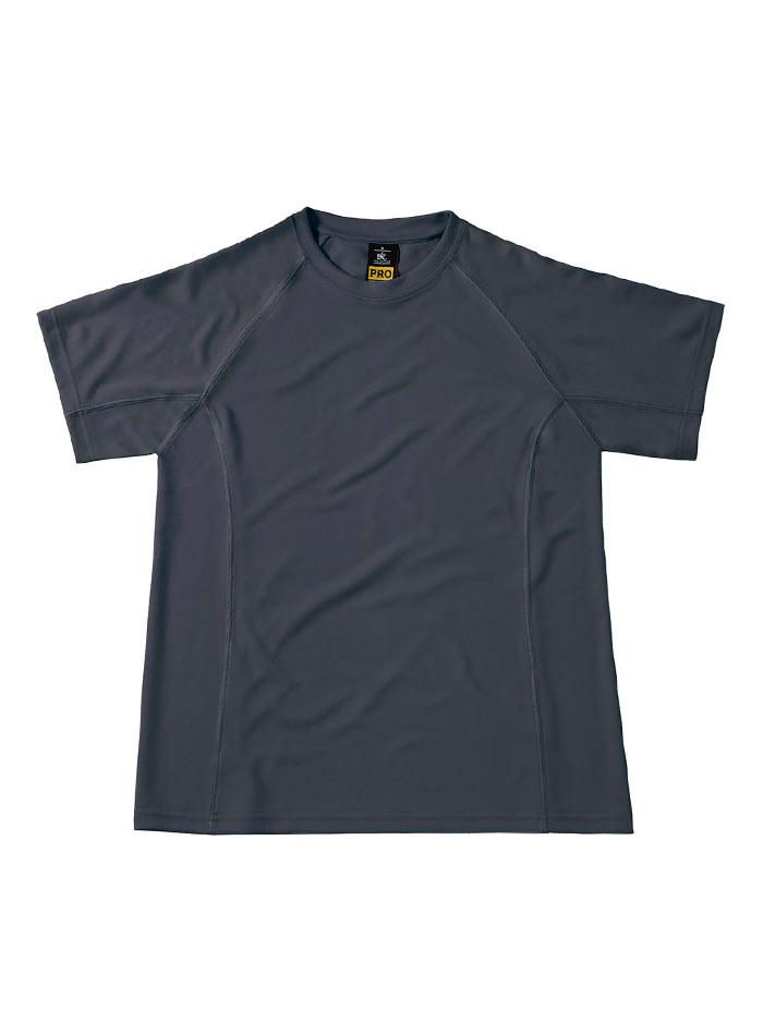 Funkční pracovní tričko - Tmavě šedá S